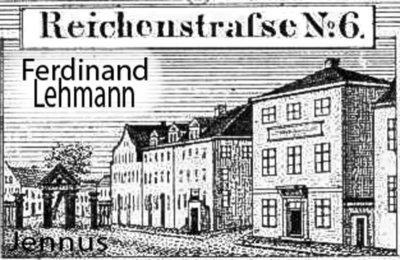 Uhrmachermeister Ferdinand Lehmann